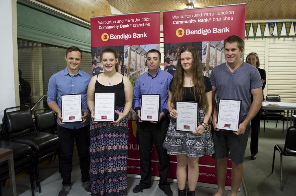 Aleksei Bondarenko-Edwards, Rebecca Lumsden-Keys, Harley Lubeck, Hannah Mahoney and Steven Sanders