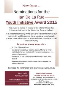 YI 2015 A4 promo flyer