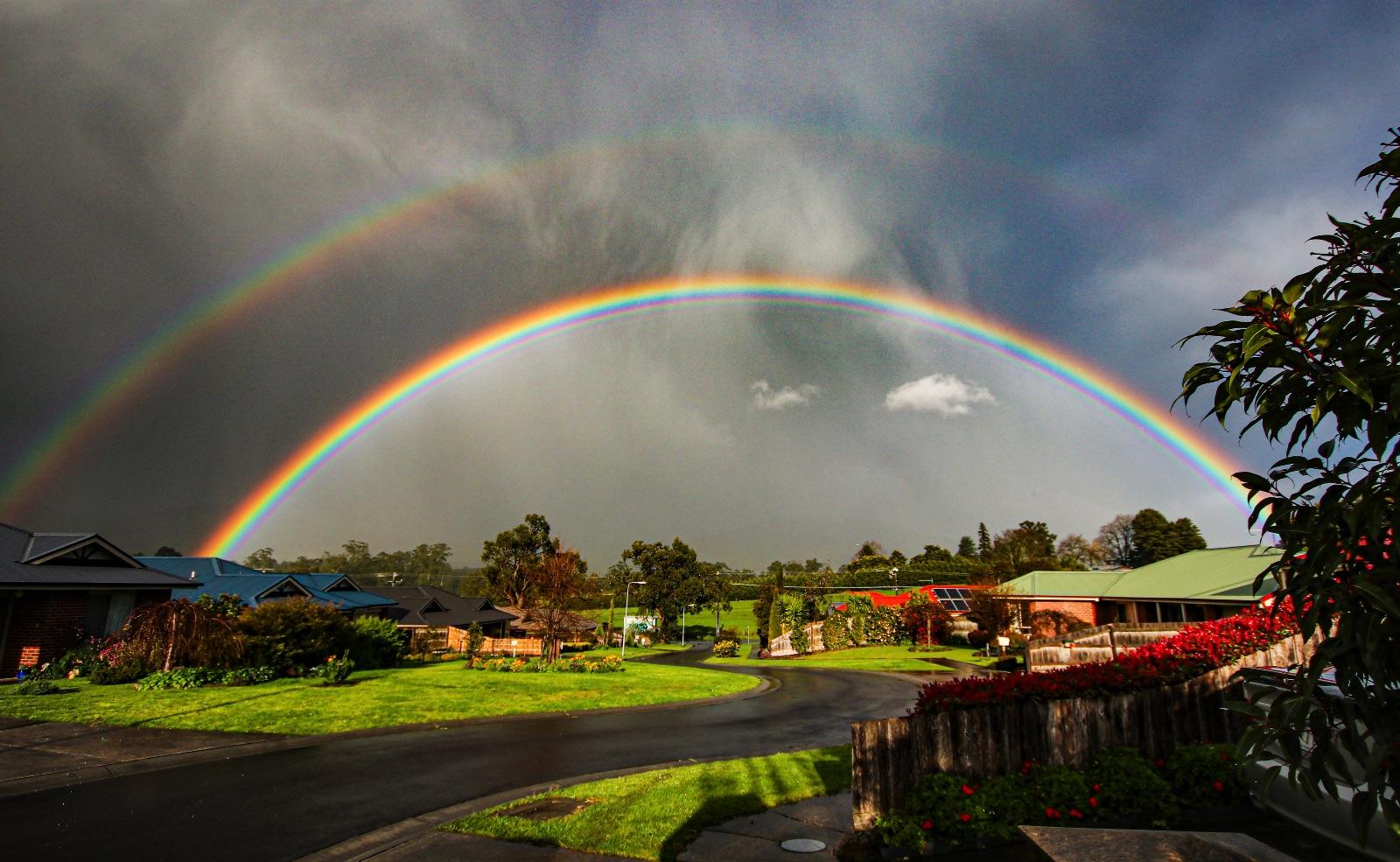 Rainbow over Junction